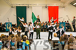 Mercy Mounthawk Proclamation Day was celebrated by a reenactment of the 1916 raising on Tuesday