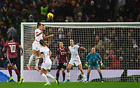 9th November 2019; Wembley Stadium, London, England; International Womens Football Friendly, England women versus Germany women; Lucy Bronze of England tries to control the header but it goes wide - Editorial Use