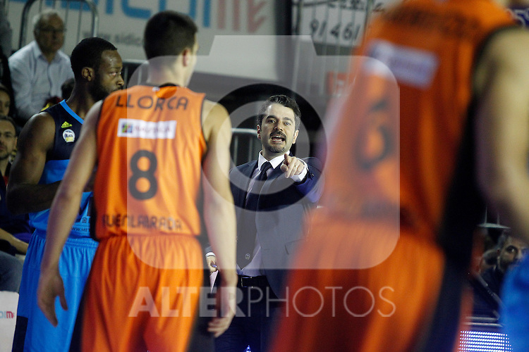 Alba Berlin's coach Ahmet Caki during Eurocup, Regular Season, Round 6 match. November 16, 2016. (ALTERPHOTOS/Acero)