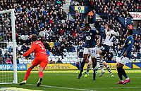 Preston North End's Tom Barkhuizen scores his side's first goal  <br /> <br /> Photographer Alex Dodd/CameraSport<br /> <br /> The EFL Sky Bet Championship - Preston North End v Blackburn Rovers - Saturday 26th October 2019 - Deepdale Stadium - Preston<br /> <br /> World Copyright © 2019 CameraSport. All rights reserved. 43 Linden Ave. Countesthorpe. Leicester. England. LE8 5PG - Tel: +44 (0) 116 277 4147 - admin@camerasport.com - www.camerasport.com