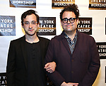 Teddy Bergman and Greg Hildreth attends the 2018 New York Theatre Workshop Gala at the The Altman Building on April 16, 2018 in New York City