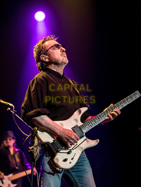 LAS VEGAS, NV - August 27, 2016: ***HOUSE COVERAGE*** Blue Oyster Cult performs at Psycho Las Vegas at The Joint at Hard Rock Hotel &amp; Casino in Las vegas, NV on August 27, 2016. <br /> CAP/MPI/EKP<br /> &copy;EKP/MPI/Capital Pictures