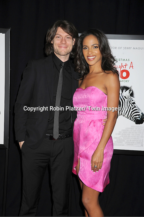 "actress Megalyn Echikunwoke and Patrick Fugit attends The New York Screening of ""We Bought A Zoo"" on December 12, 2011 at The Ziegfeld Theatre in New York City. The movie stars Matt Damon, Scarlett Johansson, Thomas Haden Church, Patrick Fugit, Colin Ford, Elle Fanning and John Michael Higgins."