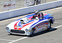Jul. 27, 2014; Sonoma, CA, USA; NHRA super gas driver Tom Bayer during the Sonoma Nationals at Sonoma Raceway. Mandatory Credit: Mark J. Rebilas-