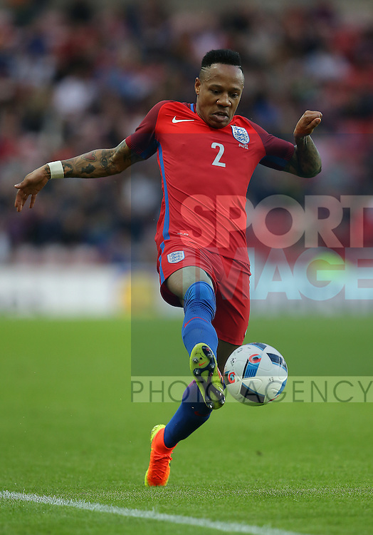 Nathaniel Clyne of England during the International Friendly match at the Stadium of Light, Sunderland. Photo credit should read: Simon Bellis/Sportimage