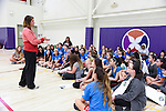 17 MAY 2016: Florida Southern girls lacrosse team visits the Girls Athletic Leadership School to interact with students during the 2016 NCAA DII Sports Festival held in Denver, CO. Derek Johnson/NCAA Photos