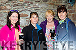 Food for strength<br /> -----------------------<br /> Thirsty and tired after the walk to Sauce Creek in aid of the Kerry Mountain Rescue and the Kerry/Cork link bus were L-R Fiona Ni mHurchadha, Dingle, Christine O'Dowd and , Bernie Maunsell both Brandon with Neasa Murphy, Dingle.