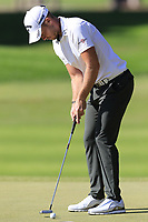 Danny Willett (ENG) putts on the 3rd green during Saturday's Round 3 of the 2018 Turkish Airlines Open hosted by Regnum Carya Golf &amp; Spa Resort, Antalya, Turkey. 3rd November 2018.<br /> Picture: Eoin Clarke | Golffile<br /> <br /> <br /> All photos usage must carry mandatory copyright credit (&copy; Golffile | Eoin Clarke)