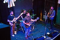 The Burlies play Glasslands Gallery in Brooklyn, New York on June 25, 2013.