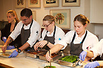 New York, NY - October 30, 2017: Chef Suzanne Cupps and her team from Untitled at The Whitney present dinner at the James Beard House in Greenwich Village.<br /> <br /> CREDIT: Clay Williams for The James Beard Foundation.<br /> <br /> &copy; Clay Williams / claywilliamsphoto.com