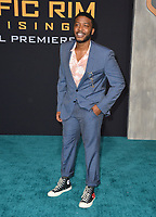 Zackary Momoh at the Global premiere for &quot;Pacific Rim Uprising&quot; at the TCL Chinese Theatre, Los Angeles, USA 21 March 2018<br /> Picture: Paul Smith/Featureflash/SilverHub 0208 004 5359 sales@silverhubmedia.com