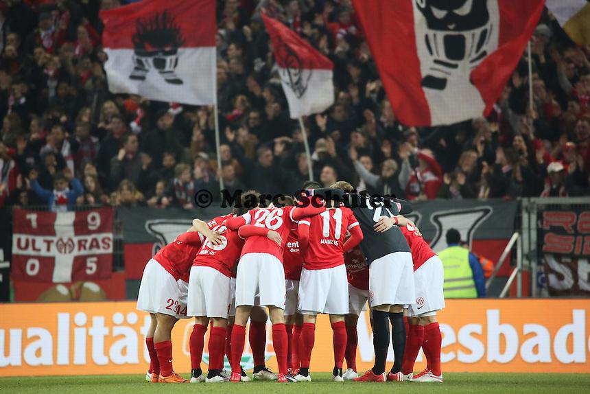 Mainz05 schwoert sich ein - 1. FSV Mainz 05 vs. Borussia Moenchengladbach, Coface Arena