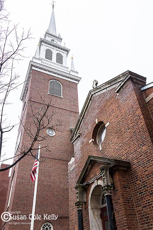 The Old North Church, Boston National Historical Park, Boston, Massachusetts, USA