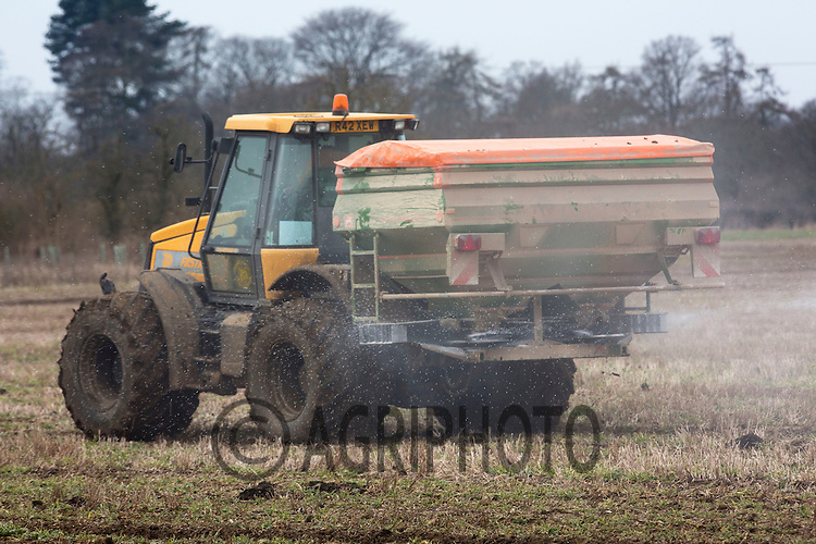 Applying nitrogen to Oil Seed Rape.Picture Tim Scrivener date taken 22 February  2013.Mobile 07850 303986 e-mail tim@agriphoto.com.          ?.covering agriculture in the Uk?....