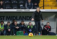 Wycombe Wanderers Manager Gareth Ainsworth during the Sky Bet League 2 match between Notts County and Wycombe Wanderers at Meadow Lane, Nottingham, England on 10 December 2016. Photo by Andy Rowland.