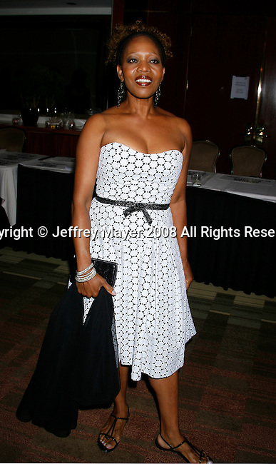 Actress Alfre Woodard arrives at the NBC Universal 2008 Press Tour All-Star Party at The Beverly Hilton Hotel on July 20, 2008 in Beverly Hills, California.