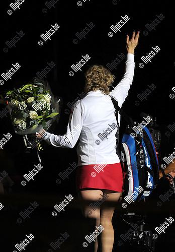 2012-12-12 / Tennis / seizoen 2012-2013 / Kim Clijsters Thank you games / Kim Clijsters..Foto: Mpics.be