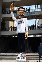 10 July 2017 - Hollywood, California - Wilmer Valderrama. Fuse and Wilmer Valderrama Reveal a 25-foot Wilmer Valderrama Puppet Activation. Photo Credit: F. Sadou/AdMedia