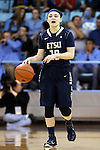 02 January 2015: ETSU's Chandler Christopher. The University of North Carolina Tar Heels hosted the East Tennessee State University Buccaneers at Carmichael Arena in Chapel Hill, North Carolina in a 2014-15 NCAA Division I Women's Basketball game. UNC won the game 95-62.
