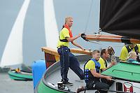 SKÛTSJESILEN: HEEG: 04-08-2015, IFKS skûtsjesilen, ©foto Martin de Jong