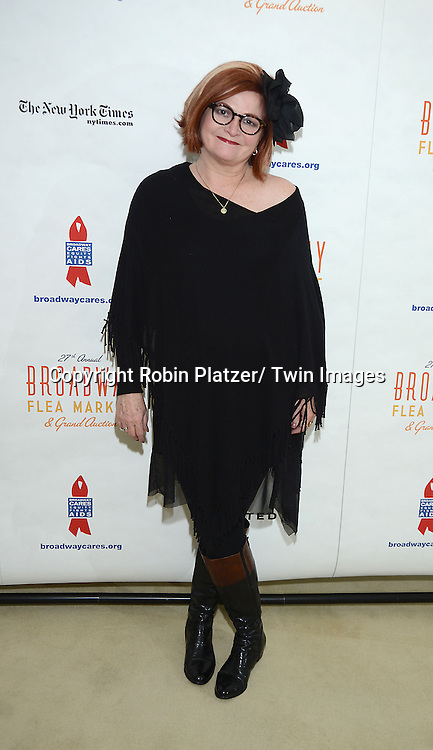 Faith Prince attends the 27th Annual Broadway Flea Market and Grand Auction benefitting Broadway Cares/ Equity Fights Aids on September 22, 2013 at Shubert Alley in New York City.