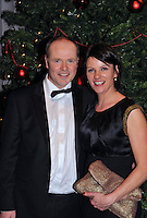 Dave and Catriona Kirwan pictured  at the Bord G&aacute;is Energy Munster GAA Sports Star of the Year Awards in The Malton Hotel, Killarney at the weekend.<br /> Picture by Don MacMonagle<br /> <br /> PR photo from Munster Council