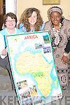 PHOTOGRAPHS: 'Give us your shot' was the word from Ailbhe Keoghan (Clubheadbangbang), Mary Foley and Nogugu Mafu (Kade) on Monday outside their KADE Office in Tralee. They are looking for submissions for the 'Sights and Sounds of Africa' photographic exhibition.    Copyright Kerry's Eye 2008