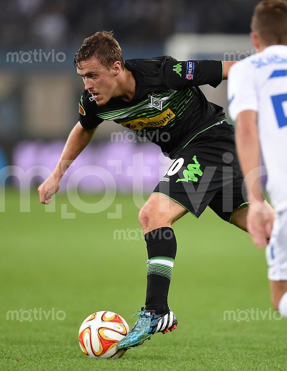 FUSSBALL   INTERNATIONAL   UEFA EUROPA LEAGUE   SAISON 2014/2015 FC Zuerich - VfL Borussia Moenchengladbach    02.10.2014 Max Kruse (Borussia Moenchengladbach) am Ball