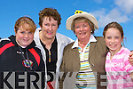 Looking for bargains at the Glenbeigh car boot sale in Glenbeigh on Sunday was l-r: Amie Griffin, Barbara Dando, Nuala O'Connor and Jesse Griffin all Glenbeigh.