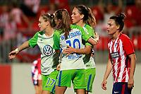 VfL Wolfsburg's Ewa Pajor, Tessa Wullaert and Sara Bjork Gunnarsdottir celebrate goal during UEFA Womens Champions League 2017/2018, 1/16 Final, 1st match. October 4,2017. (ALTERPHOTOS/Acero) /NortePhoto.com /NortePhoto.com