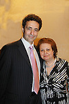 Another World Stephen Schnetzer poses with Angela as HeartShare Human Services of New York 2012 held its Spring Gala & Auction on March 22, 2012 at the New York Marriott Marquis, New York City, New York.  (Photo by Sue Coflin/Max Photos)