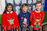Moyderwell students getting ready for the Christmas play in Moyderwell NS on Thursday.<br /> L to r: Amita Debmath, Oliver Zazar and Jacob O'Donnell.