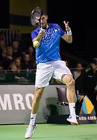 Rotterdam, Netherlands, 10 februari, 2019, Ahoy, Tennis, ABNAMROWTT, FRANKO SKUGOR (CRO) Photo: Henk Koster/tennisimages.com