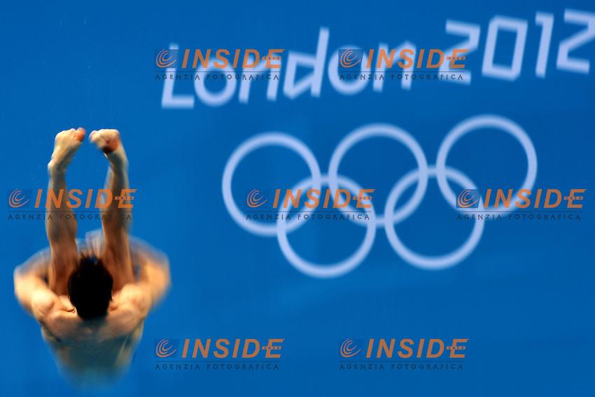 Alexandre Despatie Canada.Men's springboard 3m - Trampolino 3m Uomini.London 7/8/2012 Aquatics Center.London 2012 Olympic games - Olimpiadi Londra 2012.Diving - Tuffi.Foto Andrea Staccioli Insidefoto