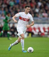 Fussball  1. Bundesliga  Saison 2013/2014  8. Spieltag VfB Stuttgart - SV Werder Bremen     05.10.2013 William Kvist (VfB Stuttgart) am Ball