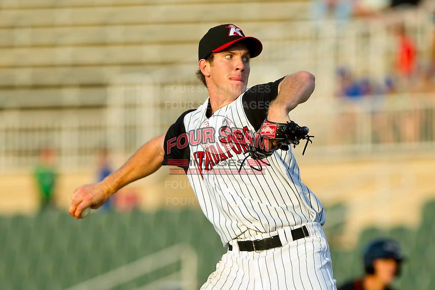 Starting pitcher Matt Heidenreich #51 of the Kannapolis Intimidators in action against the Delmarva Shorebirds at Fieldcrest Cannon Stadium on May 21, 2011 in Kannapolis, North Carolina.   Photo by Brian Westerholt / Four Seam Images