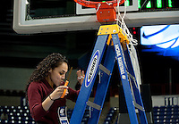 SPOKANE, WA - MARCH 28, 2011: Sha'Rae Mitchell, Stanford Women's Basketball vs Gonzaga, NCAA West Regional Finals at the Spokane Arena on March 28, 2011.