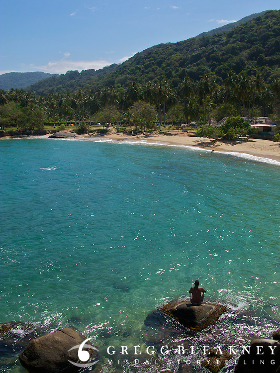 Beach in Front of Arrecifes - Tayrona National Park - Colombia