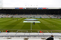 Interior view of the stadium during the Premier League match between Newcastle United and Swansea City at St James' Park, Newcastle, England, UK. Saturday 13 January 2018
