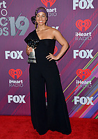 LOS ANGELES, CA. March 14, 2019: Alicia Keys at the 2019 iHeartRadio Music Awards at the Microsoft Theatre.<br /> Picture: Paul Smith/Featureflash