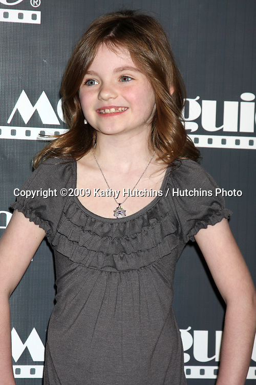 Morgan Lily  arriving at the Movieguide Family Awards 2009  at the Beverly Hilton Hotel in Beverly Hills, CA on .February 11, 2009.©2009 Kathy Hutchins / Hutchins Photo..                .