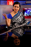 CNN-IBN on 8th December 2010. Photo by Suzanne Lee