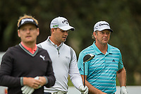 Soren Kjeldsen (DEN), Haydn Porteous (RSA) andRetief Goosen (RSA) during the 1st round of the BMW SA Open hosted by the City of Ekurhulemi, Gauteng, South Africa. 12/01/2017<br /> Picture: Golffile | Tyrone Winfield<br /> <br /> <br /> All photo usage must carry mandatory copyright credit (&copy; Golffile | Tyrone Winfield)