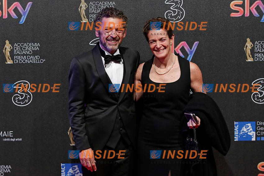 Ninni Bruschetta<br /> Roma 27-03-2017. Premio David di Donatello 2017.<br /> Rome March 27th 2017. David di Donatello ceremony 2017. <br /> Foto Samantha Zucchi Insidefoto