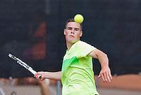 Netherlands, Rotterdam August 05, 2015, Tennis,  National Junior Championships, NJK, TV Victoria, Patrick Speelman<br /> Photo: Tennisimages/Henk Koster