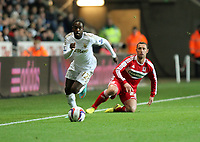 League Cup, Swansea City (white) V Middlesbrough, Liberty Stadium, 12/12/12<br />