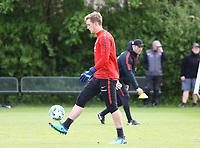 Torwart Leon Bätge (Eintracht Frankfurt) - 01.05.2018: Eintracht Frankfurt Training, Commerzbank Arena