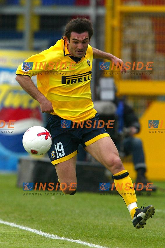 Perugia 11/4/2004 Campionato Italiano Serie A <br /> 29a Giornata - Matchday 29 <br /> Perugia Inter 2-3 <br /> Giorgios Karagounis  (Inter) <br /> Foto Andrea Staccioli Insidefoto