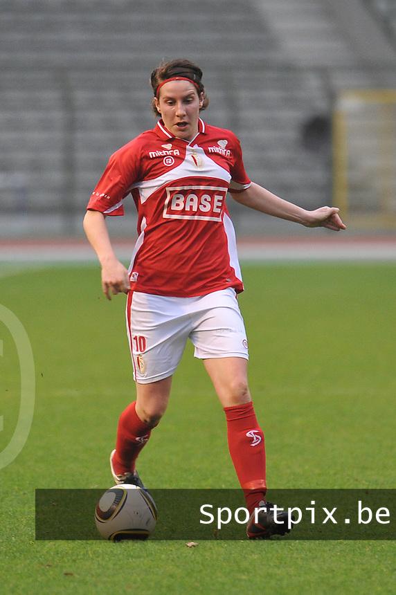 RSC Anderlecht Dames - Standard Femina de Liege : Elke Meers.foto JOKE VUYLSTEKE / Vrouwenteam.be