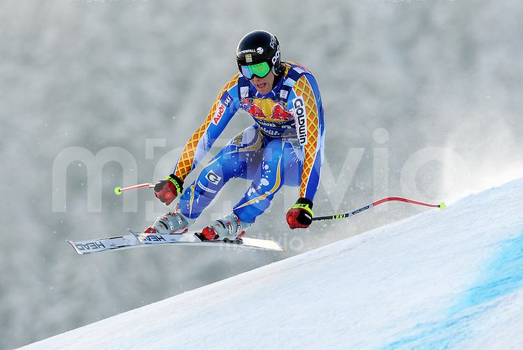 Ski Alpin;  Saison 2007/2008  22.01.2009 69. Hahnenkamm Rennen,  Abfahrt   2. Training   Hans Olsson (SWE)